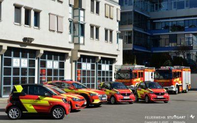 Neue Einsatzfahrzeuge bei der Feuerwehr Stuttgart