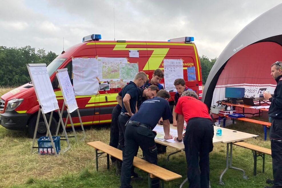 Feuerwehr Stuttgart zur Überlandhilfe nach Rheinland-Pfalz